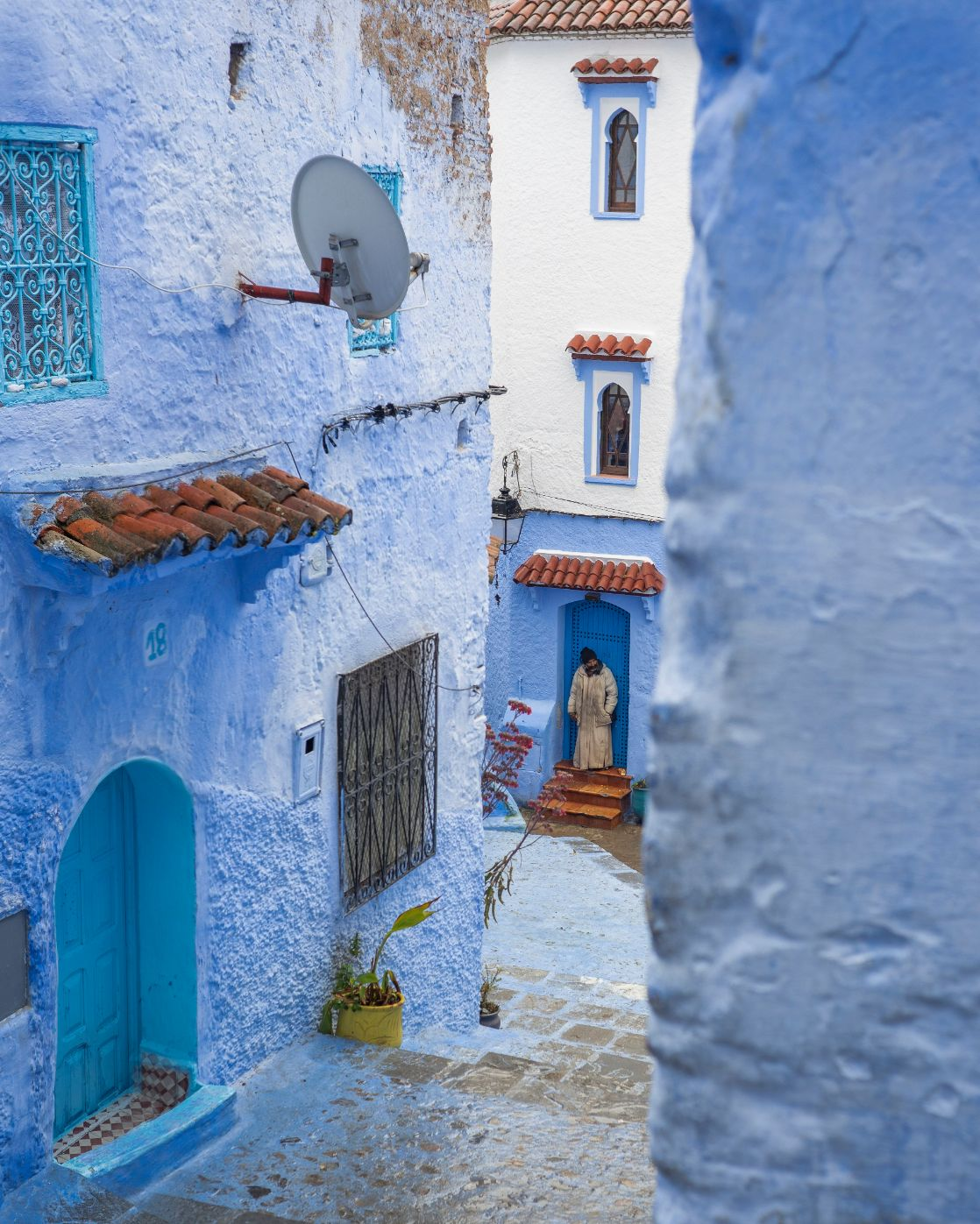 Travel photography image of Chefchaouen - Morocco's Blue City